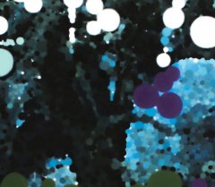 Blue Tree (Detail)