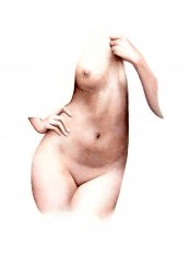 Nude2 (Watercolour on paper)